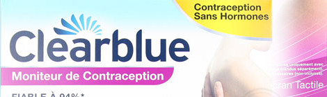 Tests Réactifs du Moniteur de Contraception clearblue